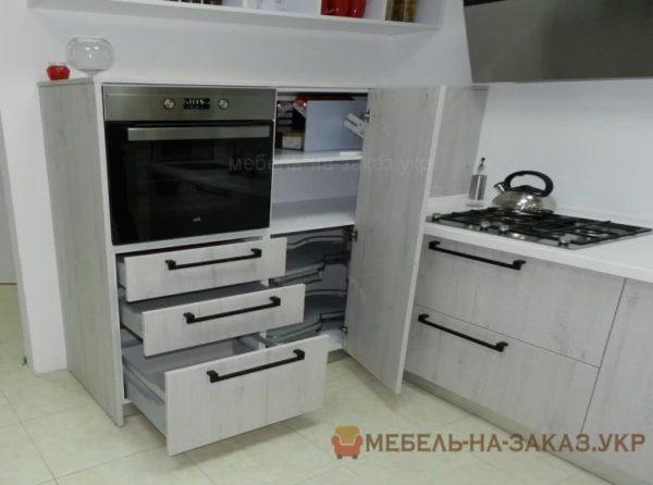 телескопические выдвижные направляющие на кухне