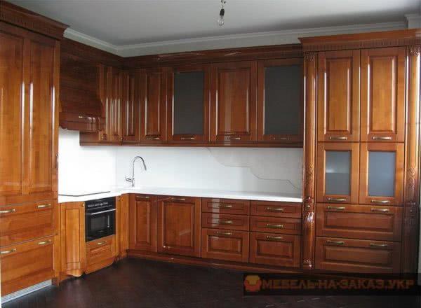 купить деревянную кухню