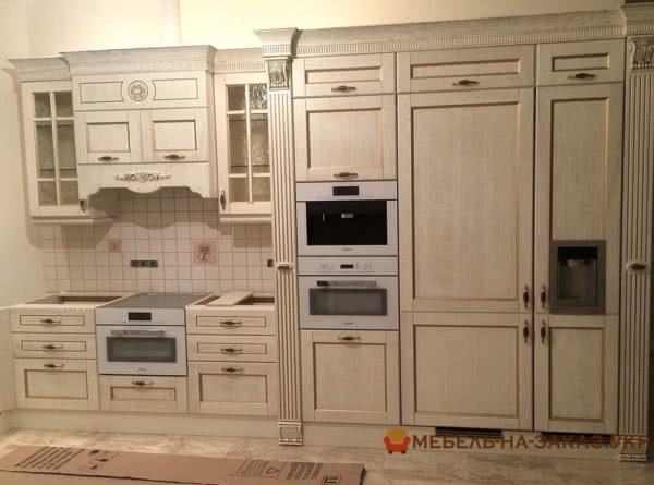 кухня авторская со шкафом