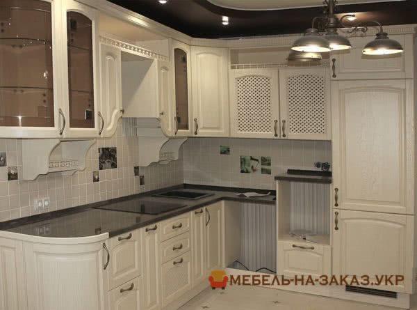 кухня без бытовой техники