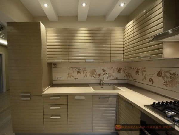 необычные кухонные фасады