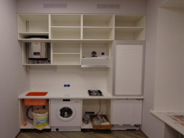 как выглядит кухня без фасадов