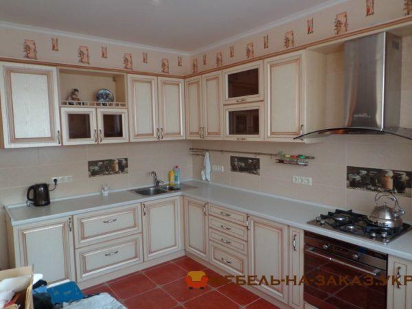 галерея кухонной мебели угловых Киев