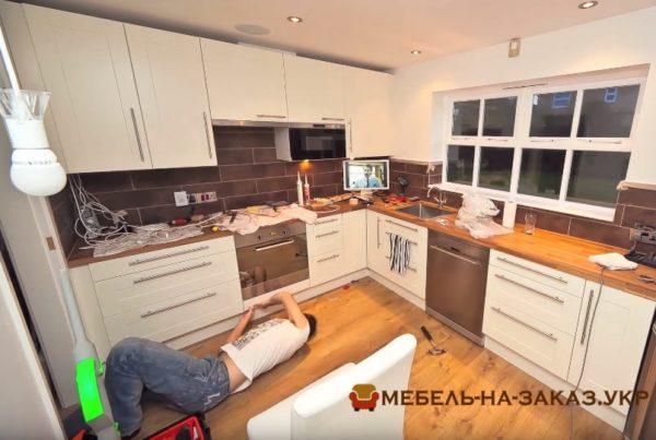 как делается заказ мебели на кухню