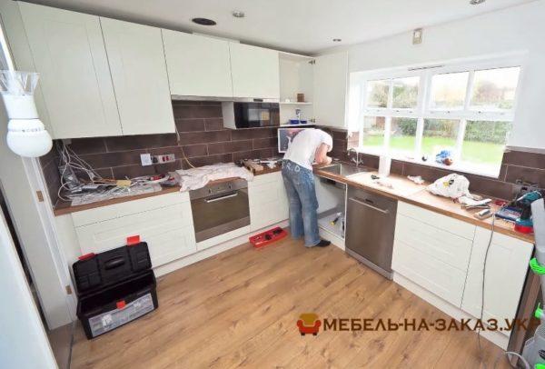 порядок заказа мебели в кухню