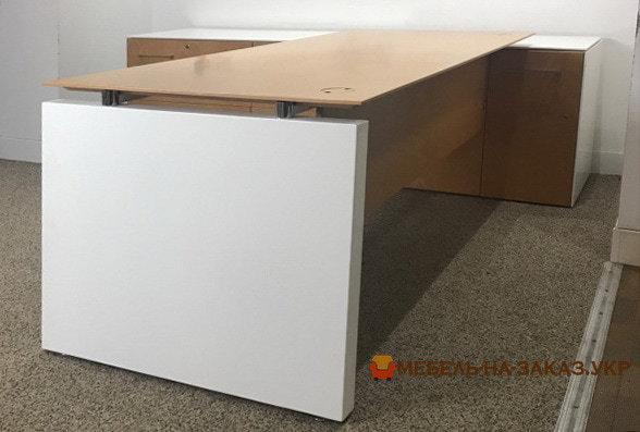 модульная белая офисная мебель