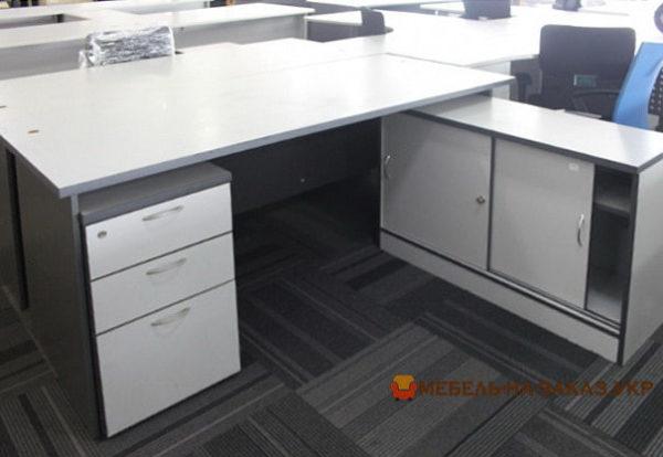 двойной офисный стол на заказ