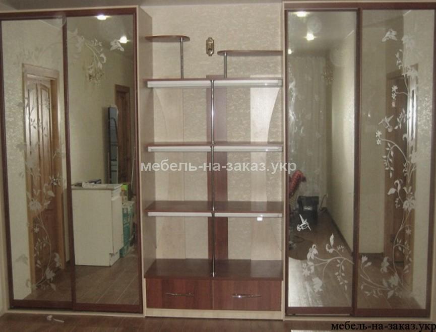 шкаф с раздвижными дверями на заказ