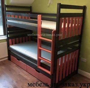 двухетажная кровать горка
