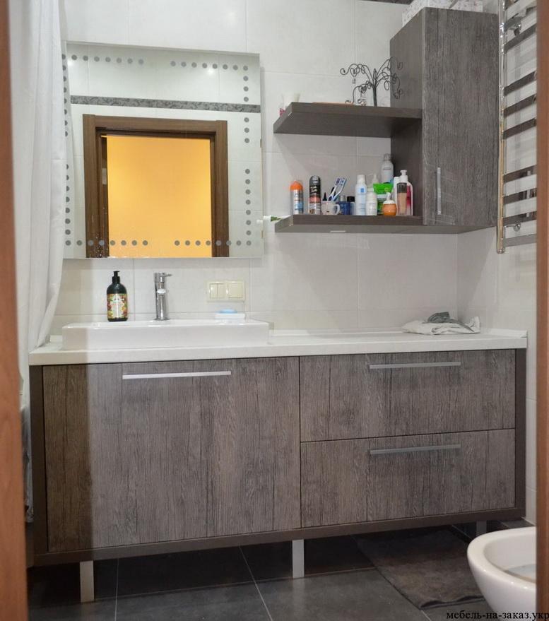 красивая мебель в ванную