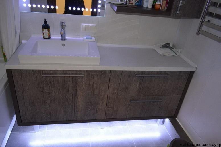 мебель для ванной на заказ Киев