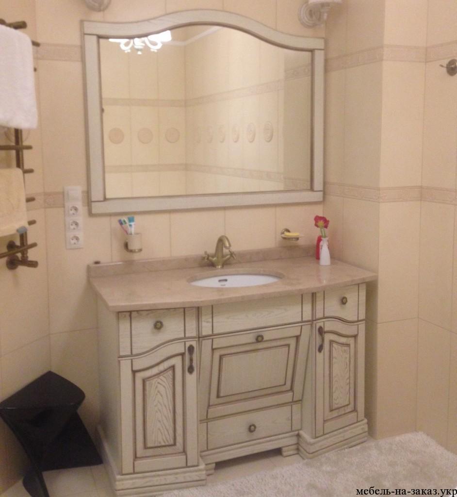 шкаф в туалет на заказ Буча