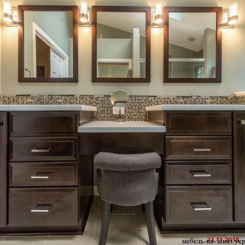 влагостойкая мебель для ванной под заказ Киев