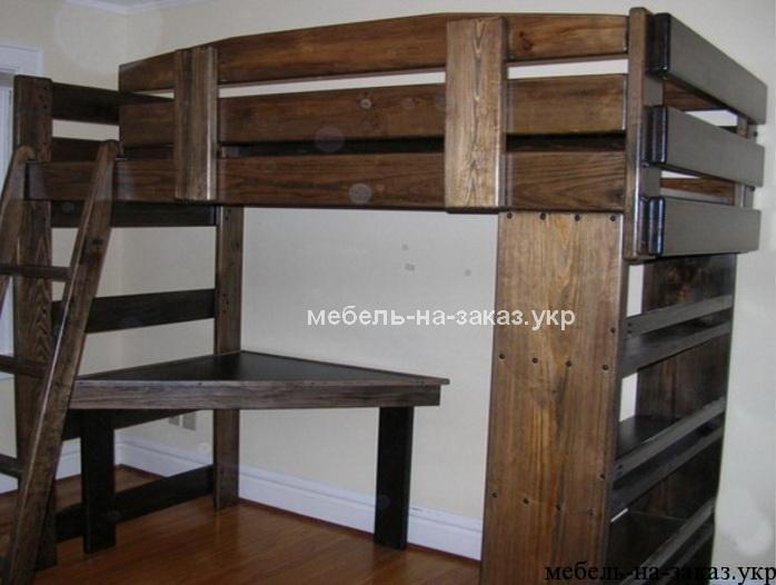 двух этажная детская кроватка