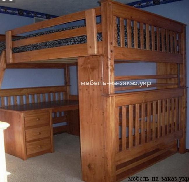 деревянная мебель для подростков под заказ