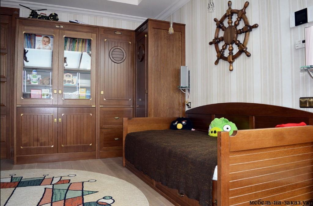 деревянные шкафы для детей на заказ
