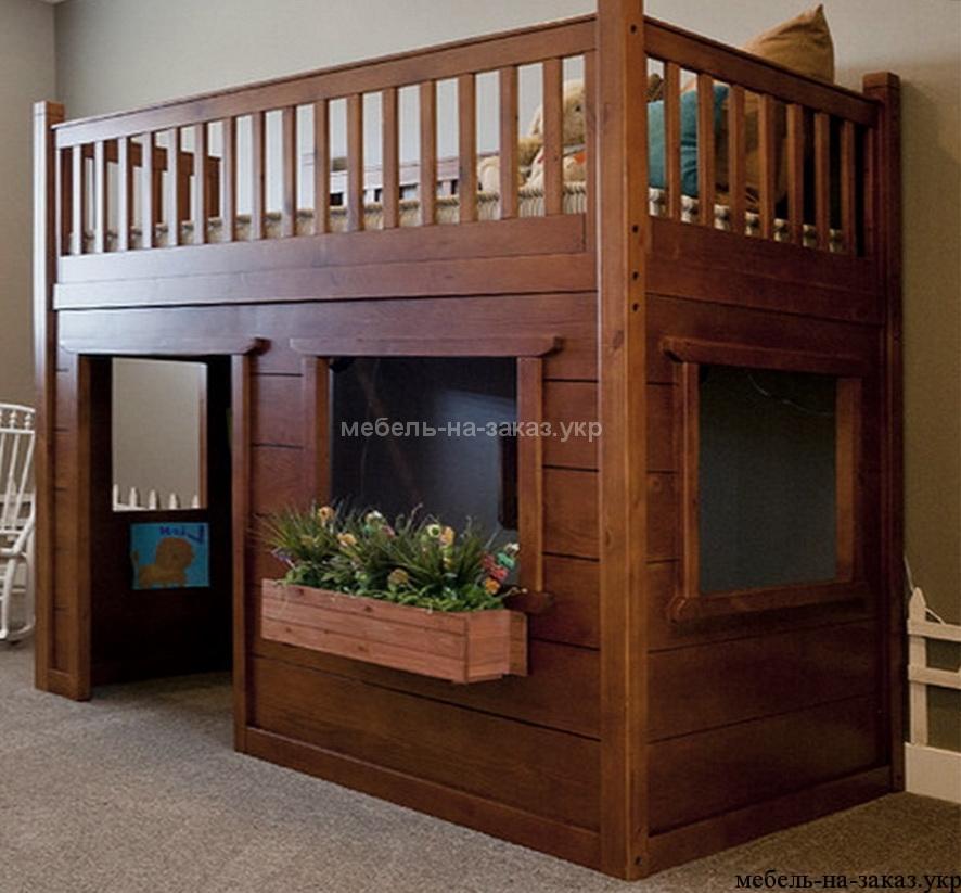 изготовление детской двухэтажной кровати