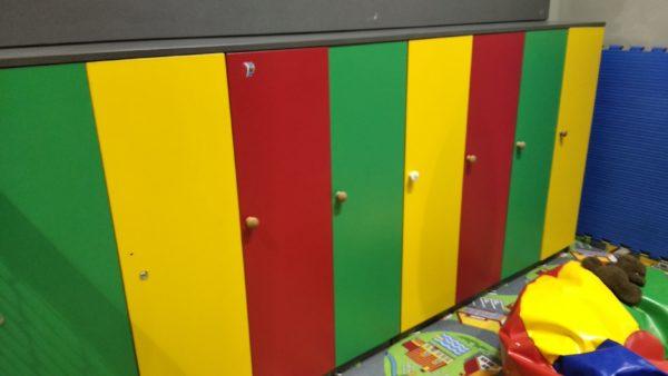 мебель в раздевалку для детей