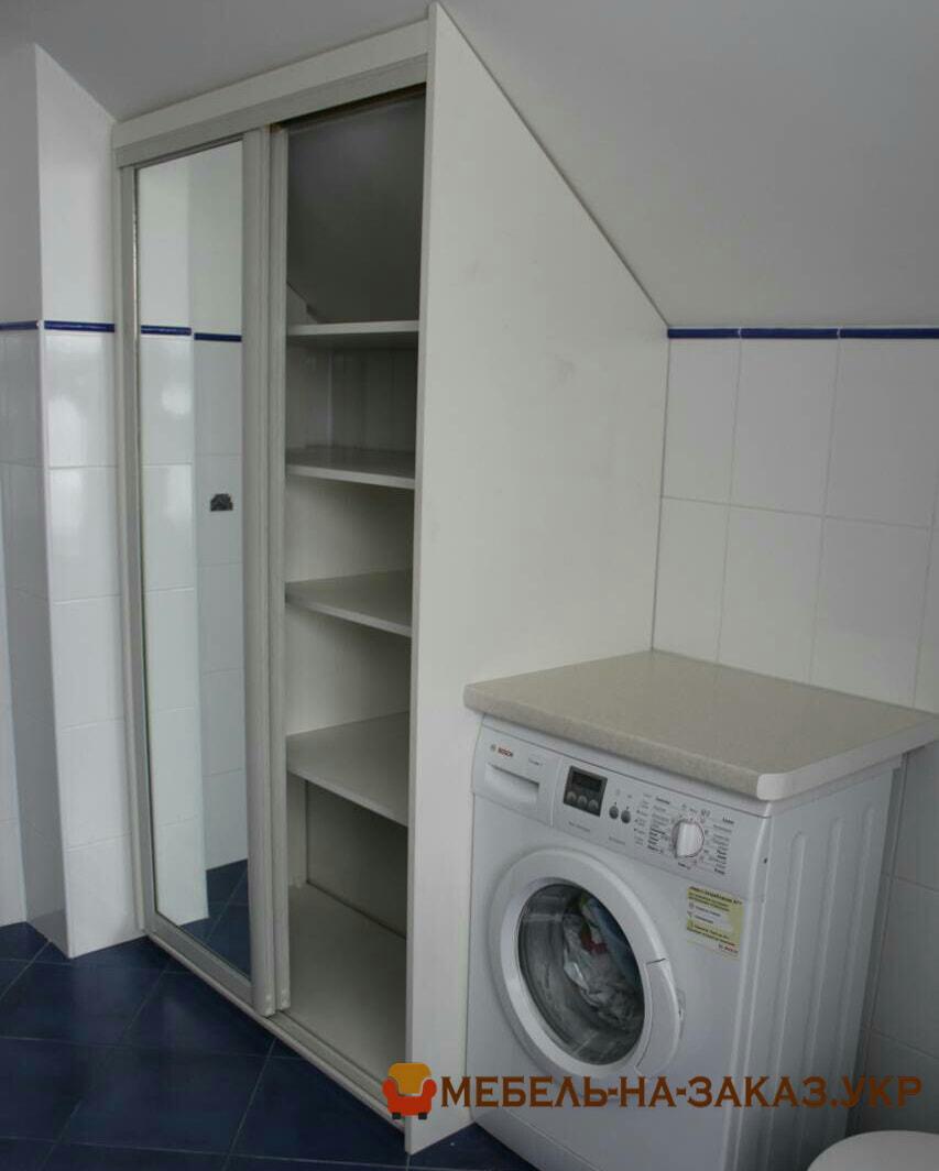 шкаф для ванной на заказ из влагостойкого материала Боярка