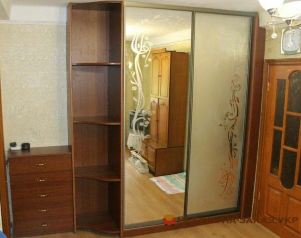 изготовление шкафов с раздвижными дверями регенераторная 4