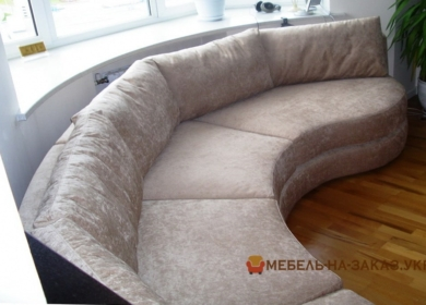 круглый диван заказной Подол