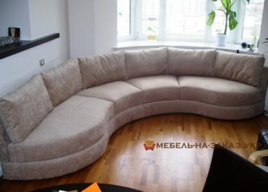 эксклюзивный круглый диван Подольский район
