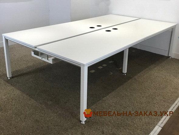 варианты заказной мебели в офис на металокаркасе в Киеве