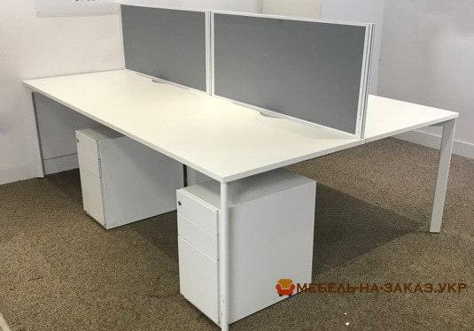 выбрать мебель для офиса под заказ с перегородками