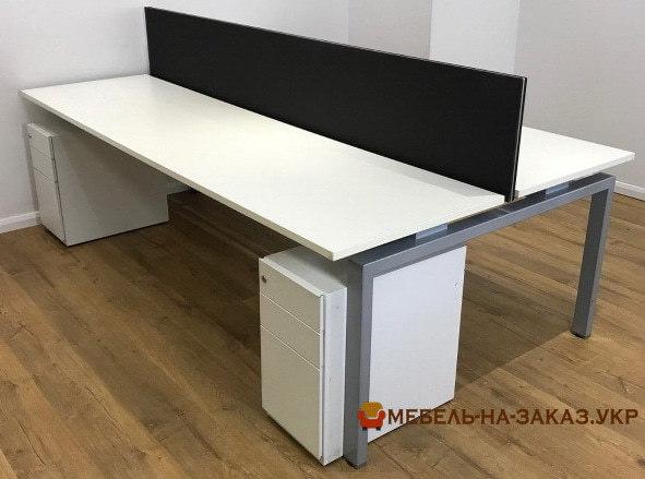 офисная мебель на заказ с металлической базой