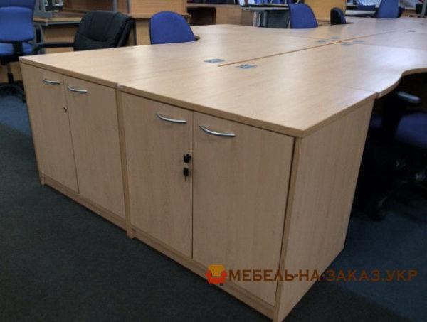 офисная мебель на заказ с металлической базой недорого