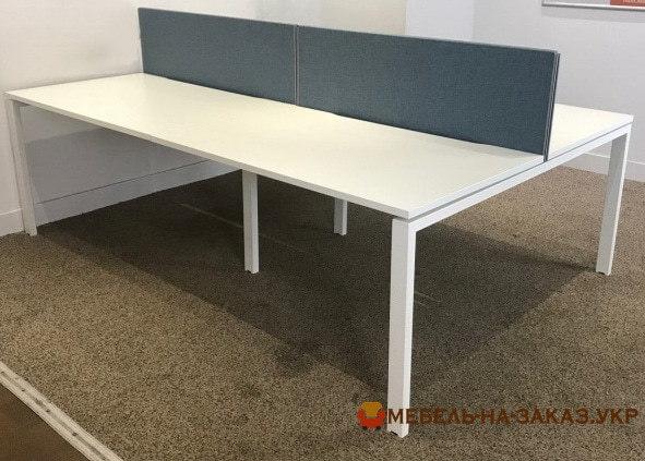 изготовление офисной мебели на заказ на метало базе