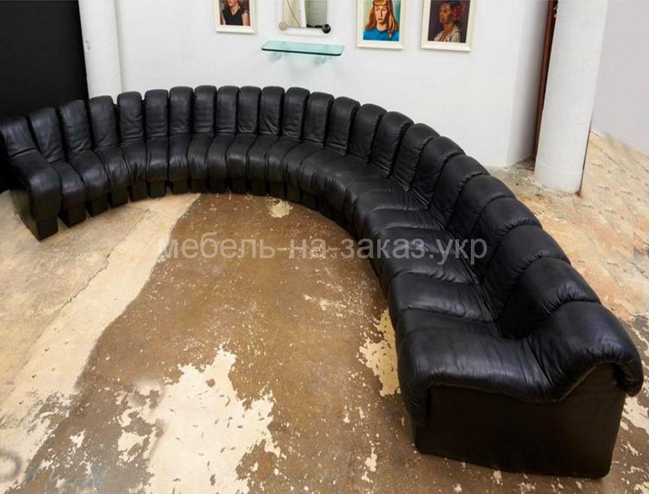 радиусные диваны на заказ