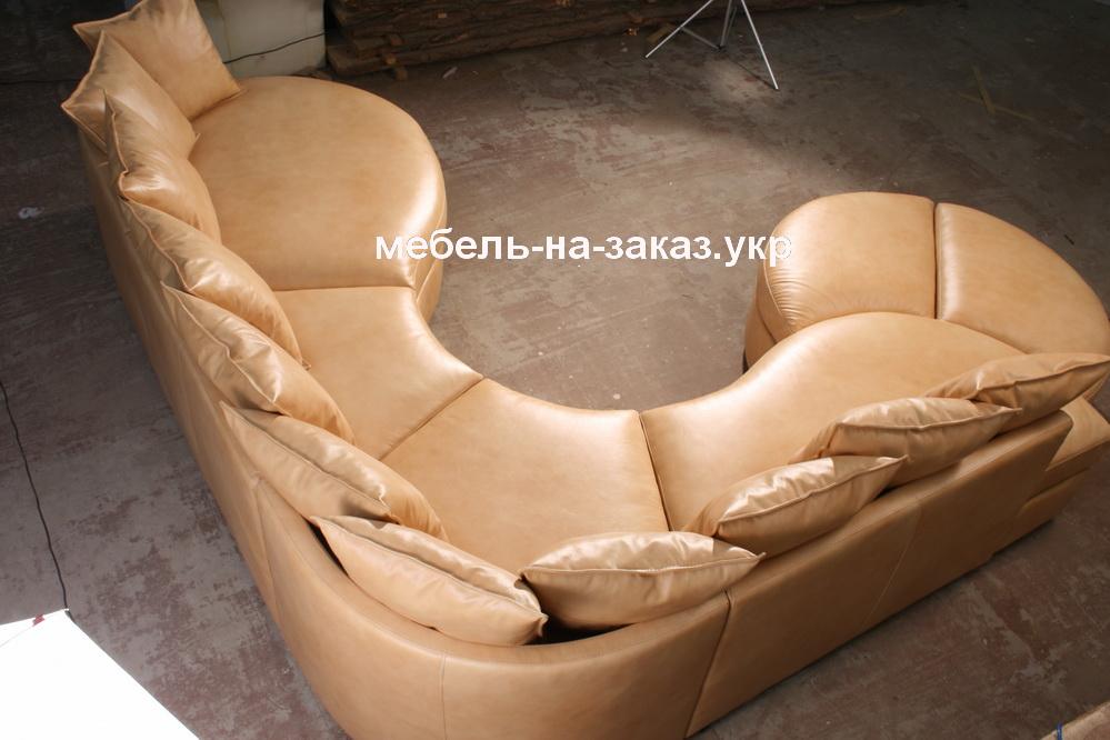 модульный диван с подушками на заказ