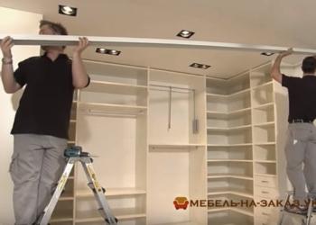 изготовление и установка шкафов-купе