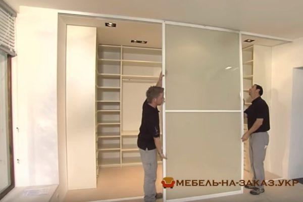раздвижные шкафа купе Киев