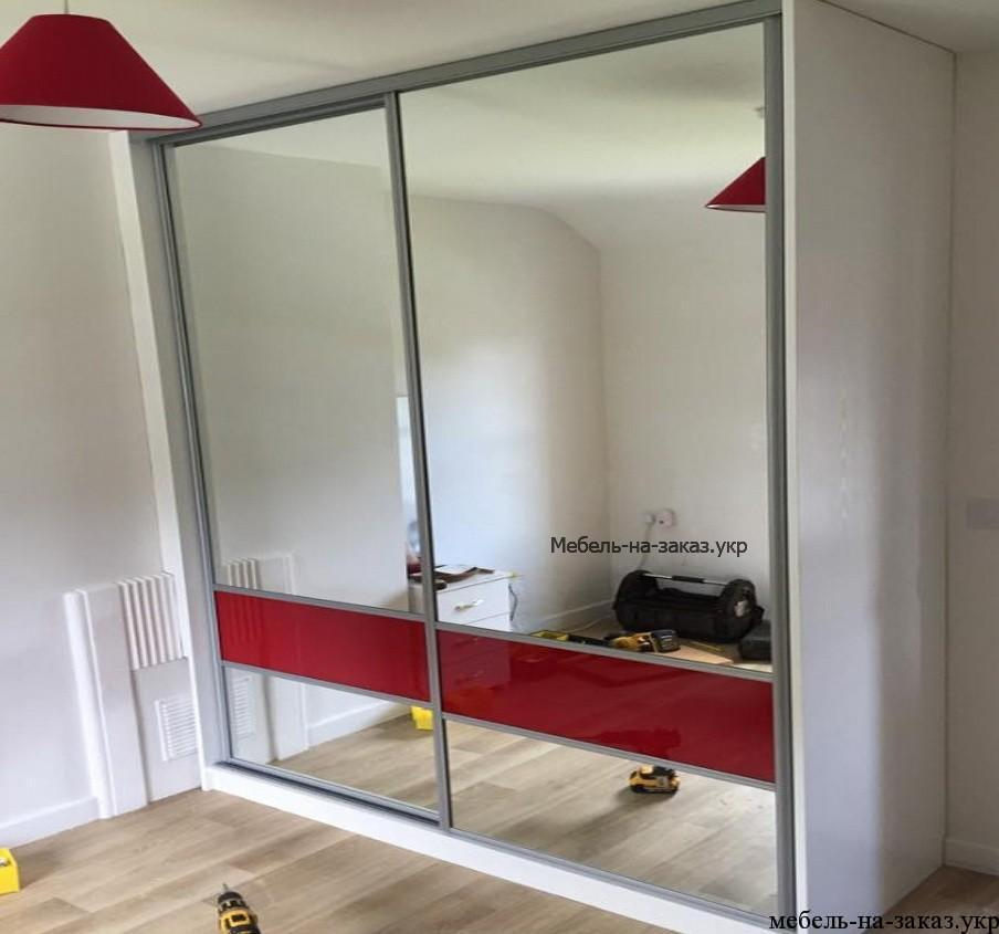 зеркальные двери для шкафа
