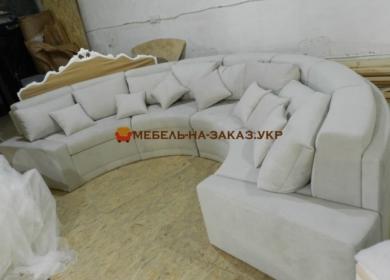 эксклюзивный круглый диван на заказ Новые Петровцы