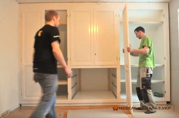 сборка мебель Киев недорого