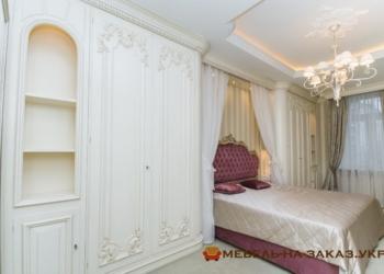 элитная авторская мебель из дерева в спальню