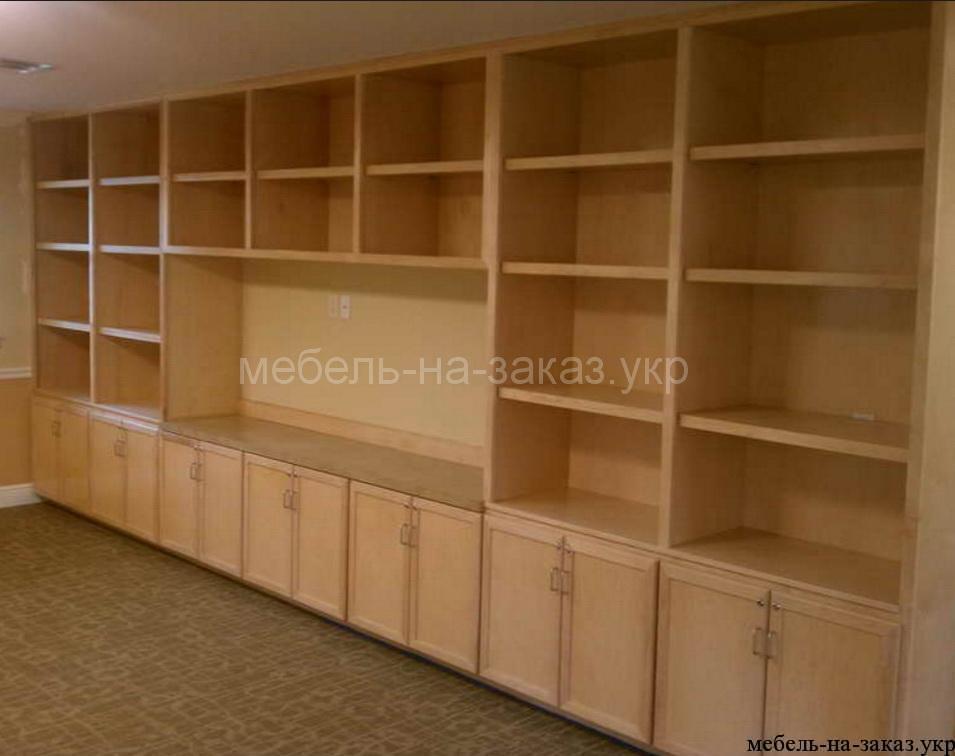 шпонированая мебель под заказ