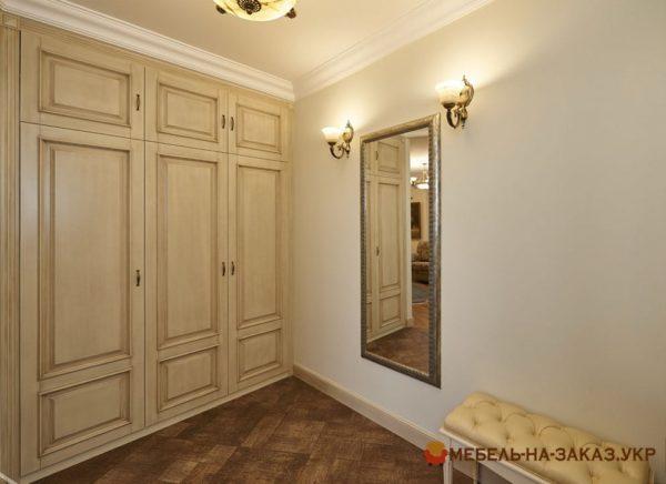 встроенный шкаф в спалню