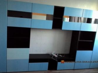 спальня синяя на заказ