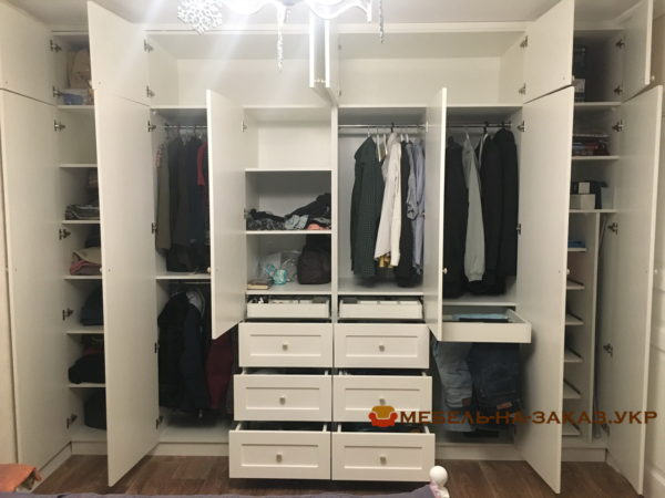 шкаф в спальню под заказ БУча