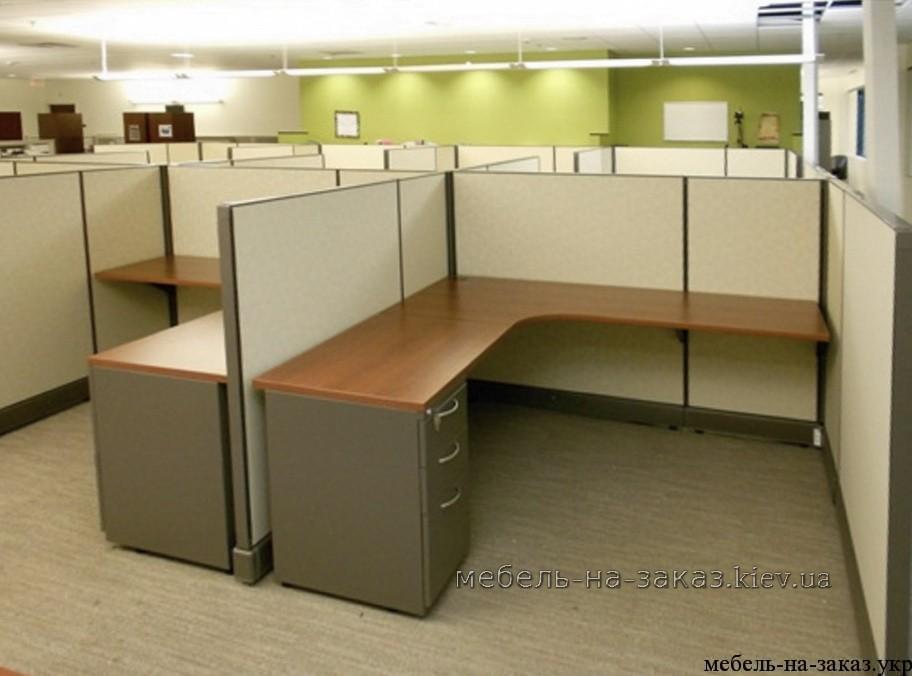 столы с перегородками на заказ