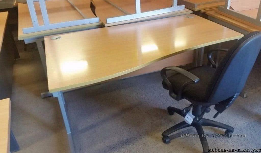 офисные столы на металлокаркасе на заказ Житомир