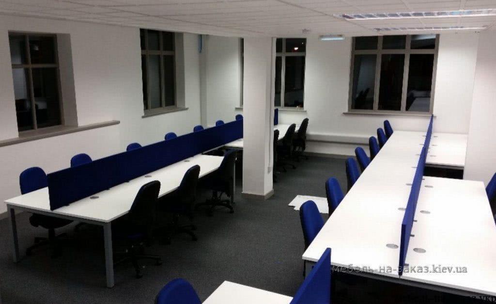 офисные столы на металлокаркасе на заказ ФАстов