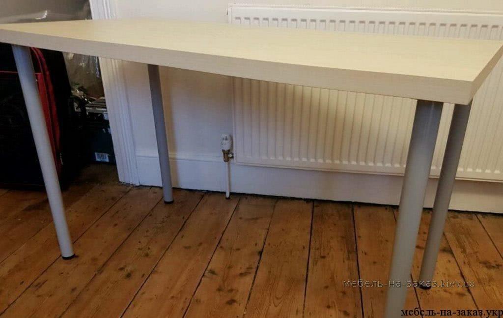 офисные столы на металлокаркасе на заказ Мебелартис