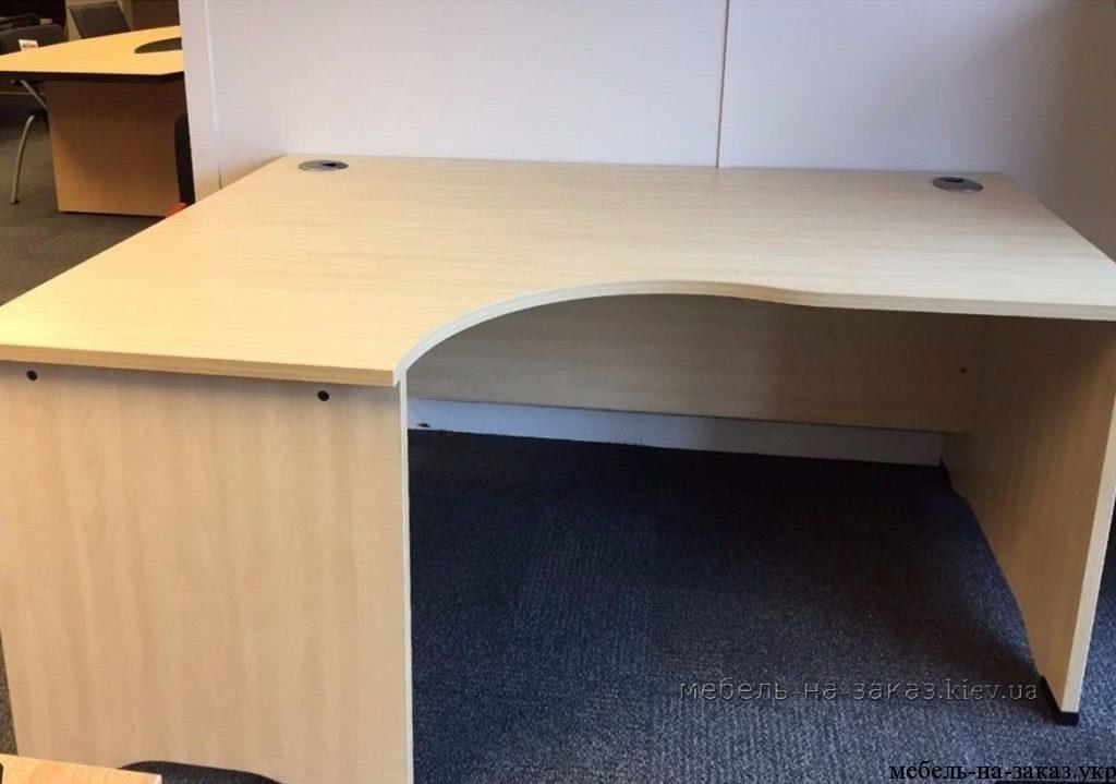 угловые столы на заказ от мебелартис