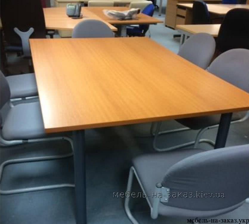 прямой офисный стол на заказ