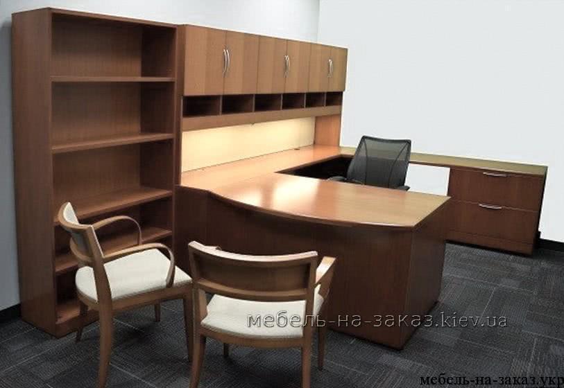офисный стол полукруглый